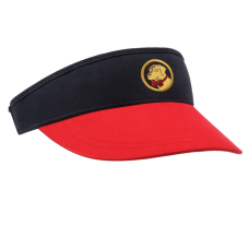 Navy and Red Visor